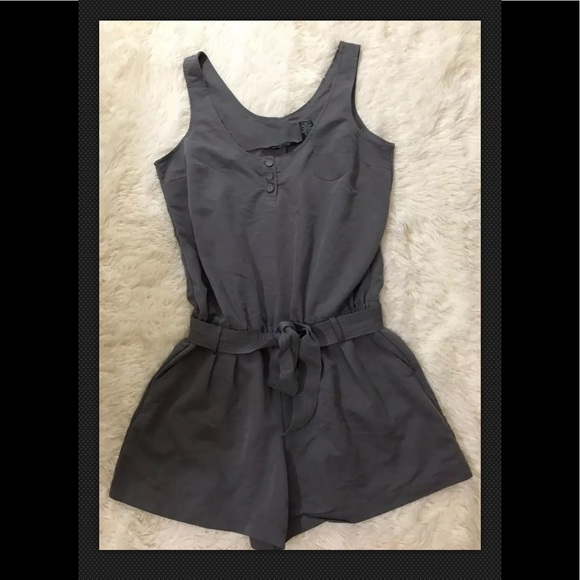 New York & Company Other - New York & Co Gray Romper Medium